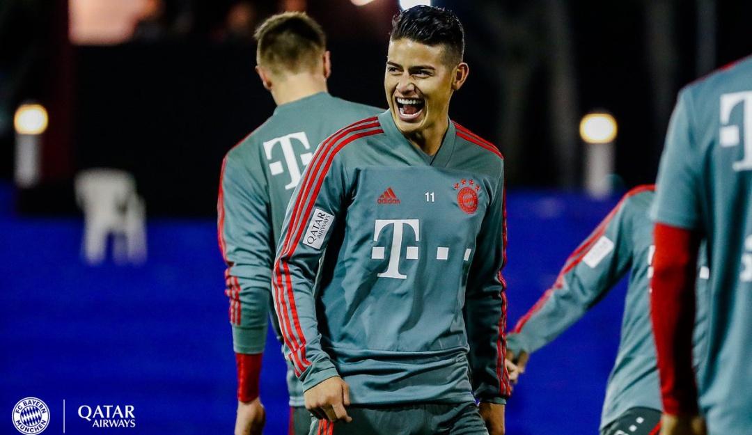 James Rodríguez, en la mira de Juventus y Arsenal