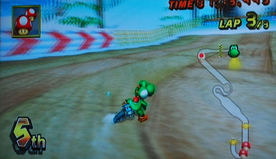Esta pareja decide quién hace el té jugando Mario Kart 64
