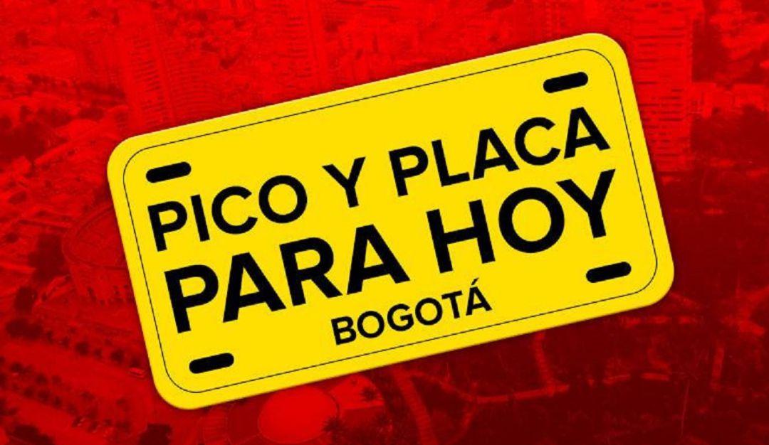 Vuelve el pico y placa a Bogotá