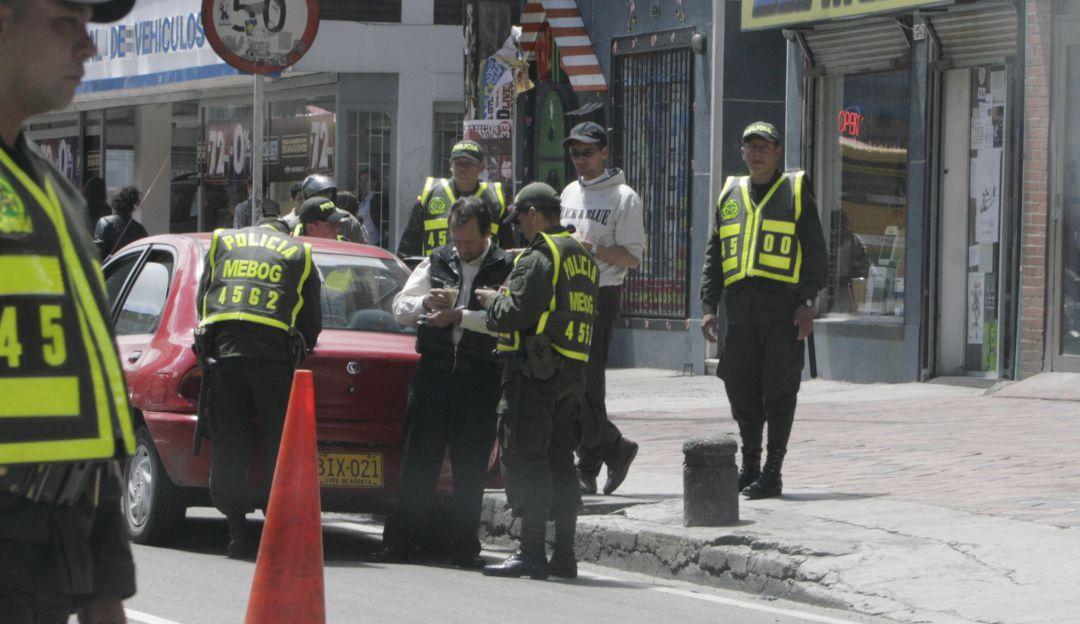 Cada tres minutos se sanciona a un conductor por pico y placa en Bogotá