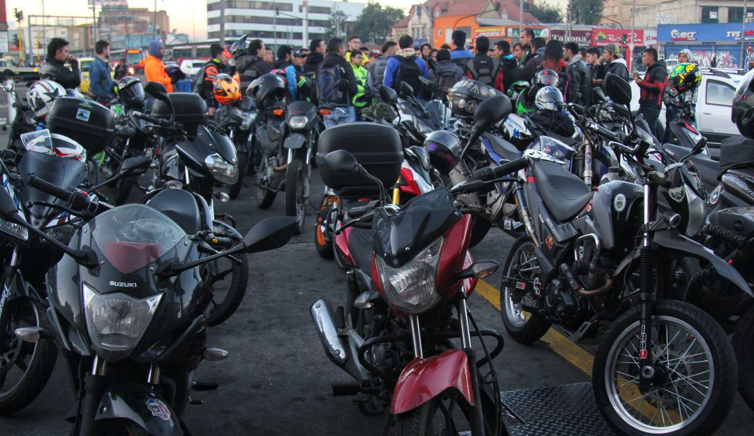 Robo de motos en Bogotá: Entre 8 y 9 motos se roban a diario en Bogotá