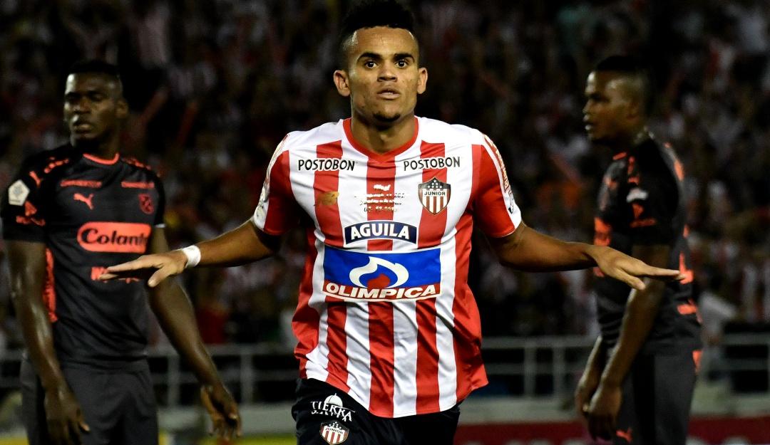"""Rodolfo D'Onofrio Luis Díaz Junior River Plate: D'Onofrio: """"Hay una intención de River por Díaz, la decisión es de Junior"""""""