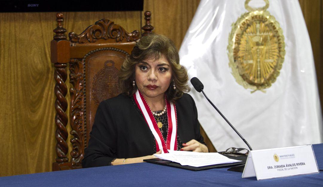 Fiscalía de Perú será declarada en emergencia, anuncia nueva fiscal general