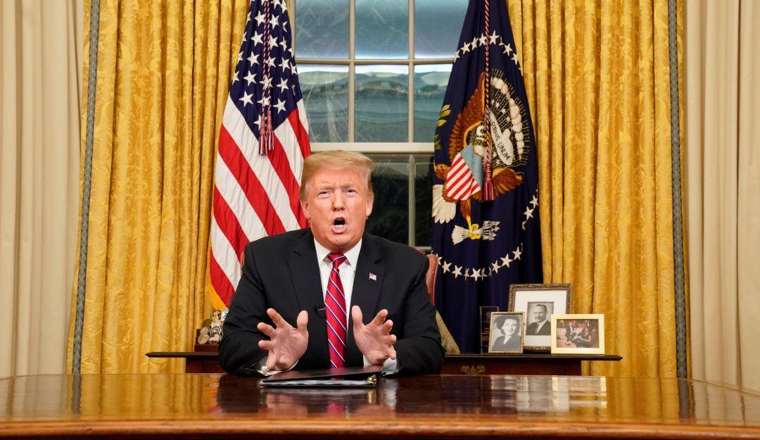 Las mentiras y aciertos de Trump en su discurso a favor del muro