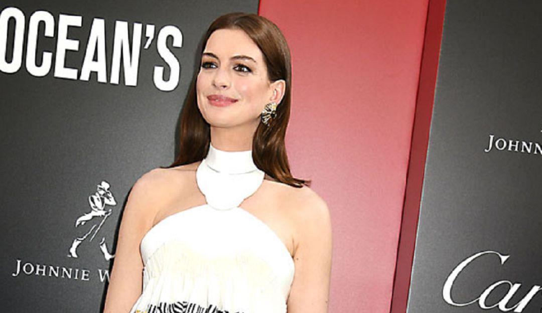truco de Anne Hathaway para 'combatir el estrés'.: El curioso truco de Anne Hathaway para 'combatir el estrés'