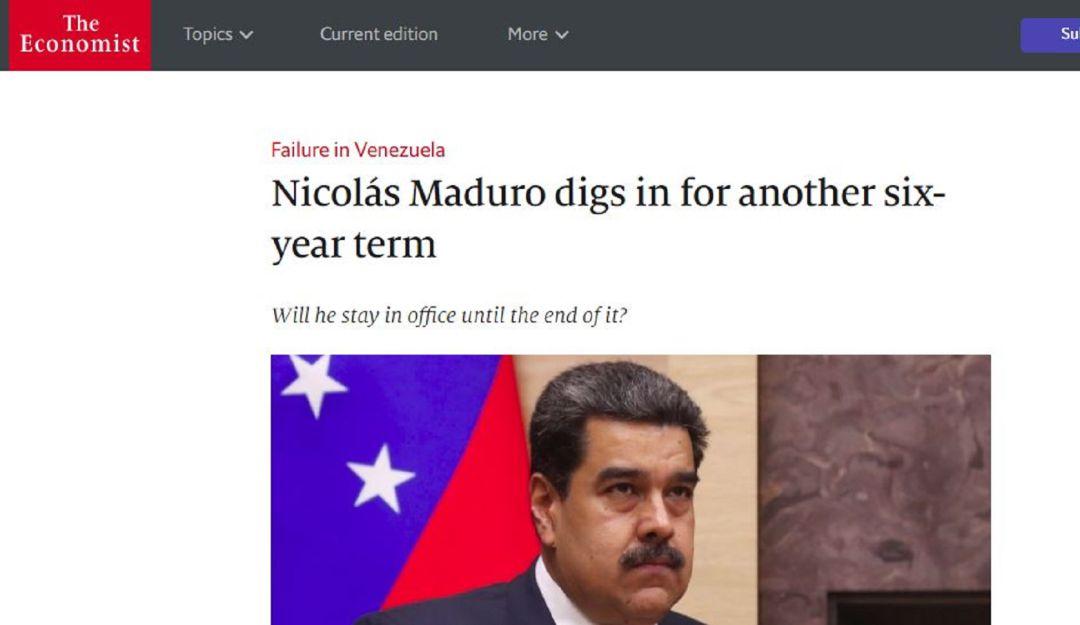 Asamblea Nacional desconoce mandato de Maduro: