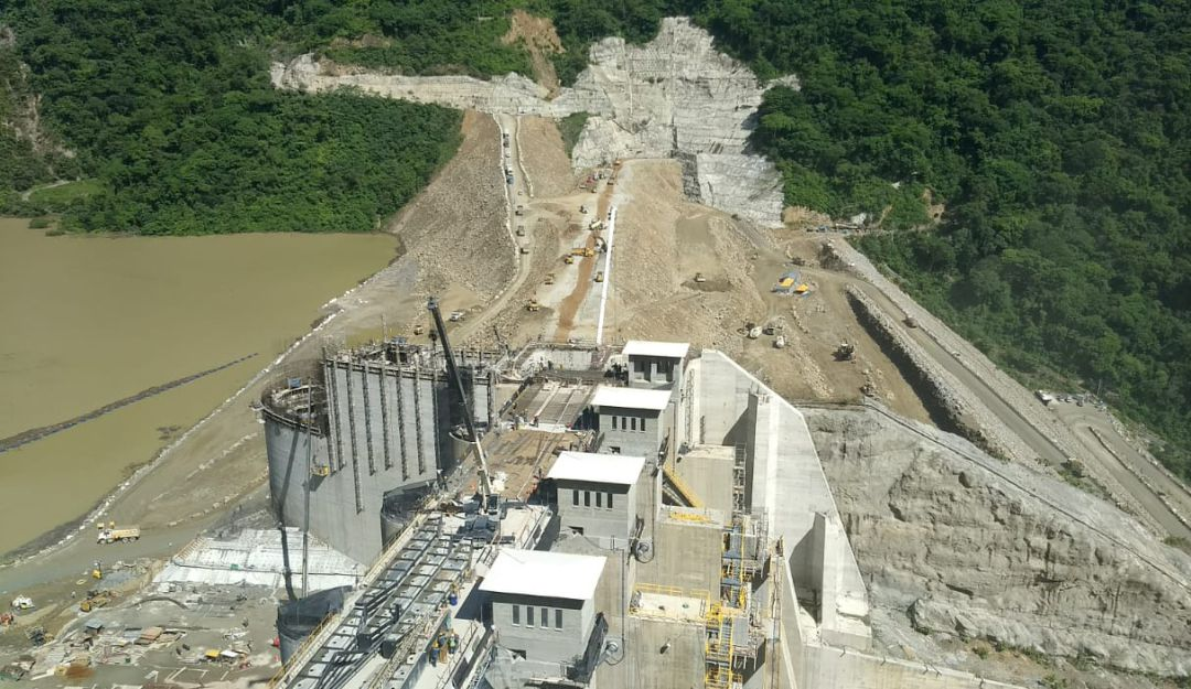 HIDROITUANGO, EPM,CONTINGENCIA: Hallan una socavación cerca a casa de máquinas del proyecto Hidroituango