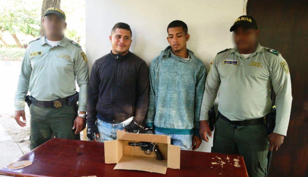Capturan dos hombres en el corregimiento de La Boquilla en Cartagena: Capturan dos hombres en el corregimiento de La Boquilla en Cartagena
