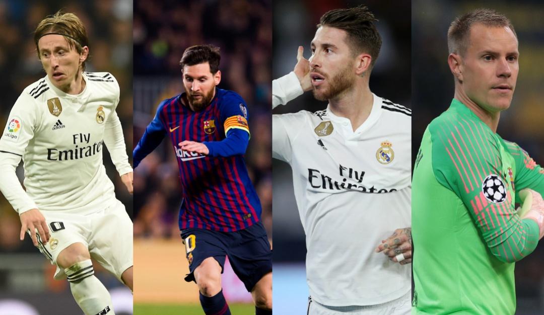 Once ideal de la UEFA: Real Madrid y Barcelona lideran el once ideal de la UEFA