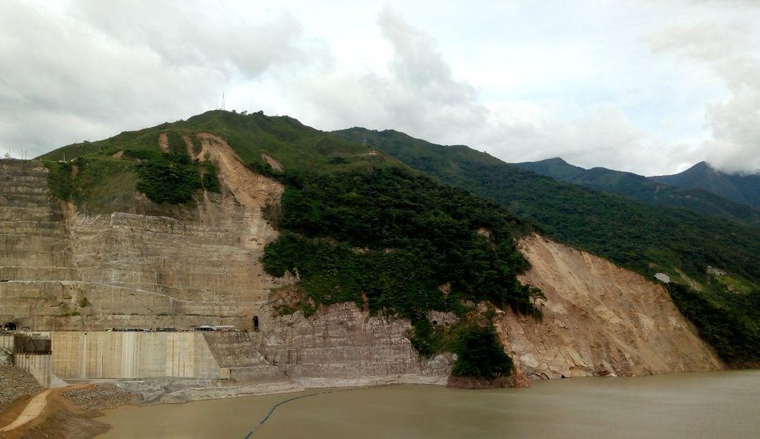EMERGENCIA, RIESGO, HIDROITUANGO, SOCAVADA, EPM, PROYECTO: El riesgo de colapso de la montaña socavada es nulo: EPM