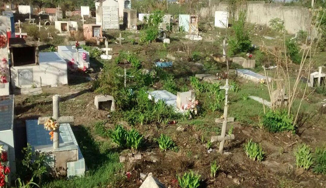 Cementerio de Santa María donde será sepultado el adulto mayor.
