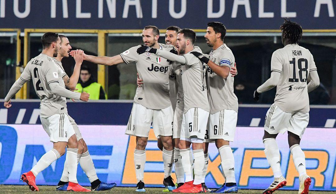 juventus: Juventus no falla y avanza a cuartos de final de la Copa Italia