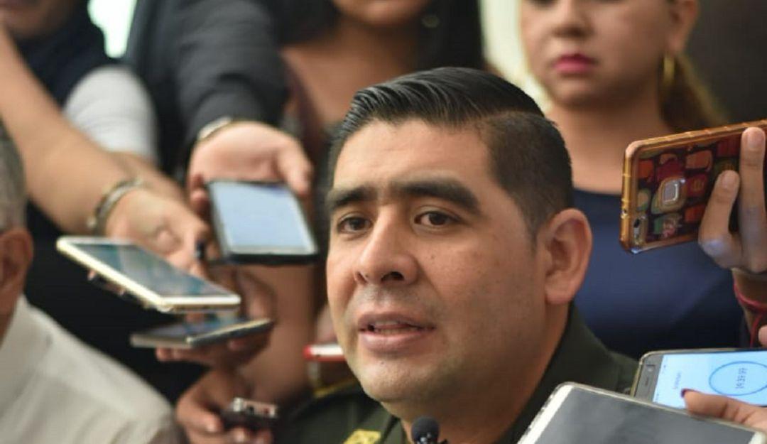 Coronel Jorge Morales, comandante de la Policía Metropolitana de Ibagué