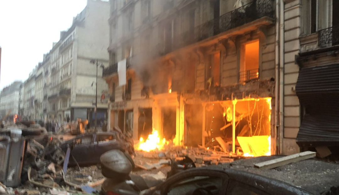 Varios heridos tras una explosión en una panadería en París