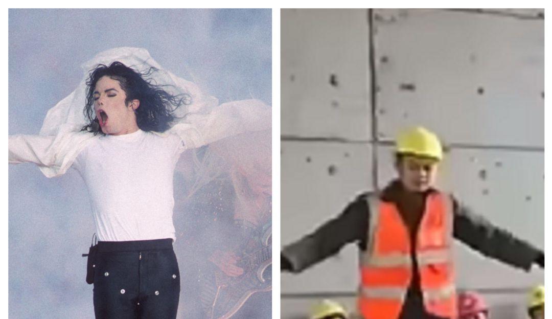Obrero es llamado la reencarnación de Michael Jackson