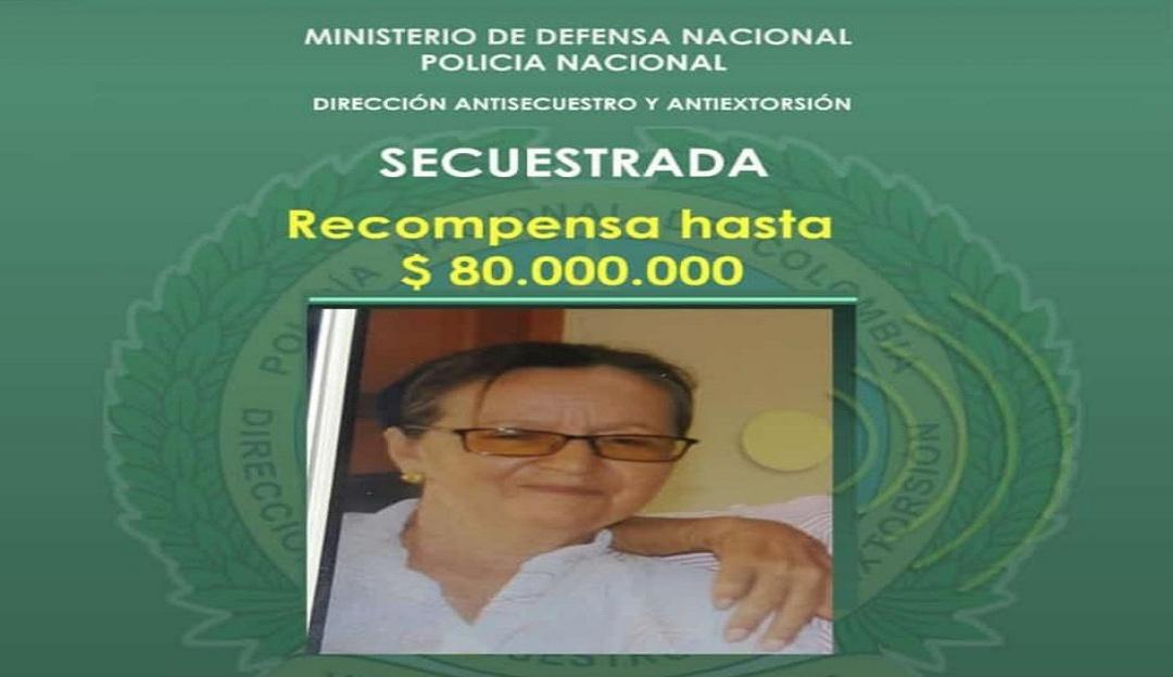 Secuestros en Colombia: Ofrecen recompensa de $80 millones para rescatar secuestrada en Chimichagua