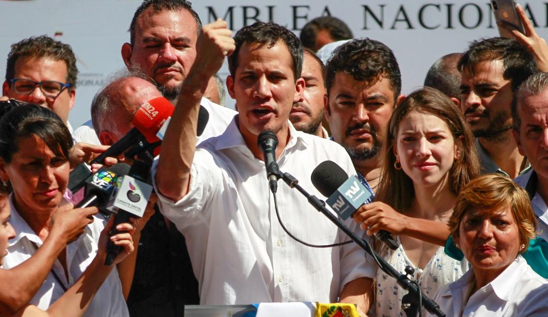 Detención de Juan Guaidó: Gobierno calificó como secuestro la detención de Guaidó