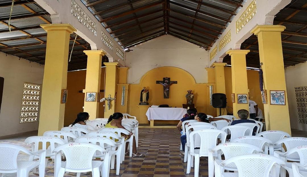 La capilla de El Salado: La sobreviviente capilla de El Salado, Bolívar