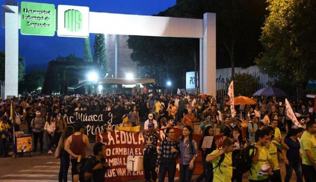 El paro estudiantil continúa: Sigue el paro en la UIS; el 17 de enero habrá marcha