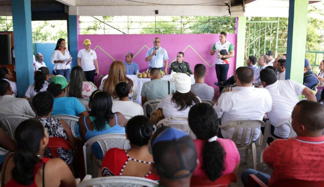 Distrito de Cartagena firma acta de compromiso con Arroyo Grande: Distrito de Cartagena firma acta de compromiso con Arroyo Grande