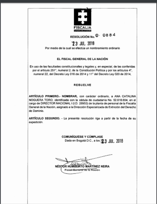 Vínculos entre el Fiscal y la Universidad Segio Arboleda: Siguen surgiendo vínculos entre el Fiscal y la Universidad Sergio Arboleda