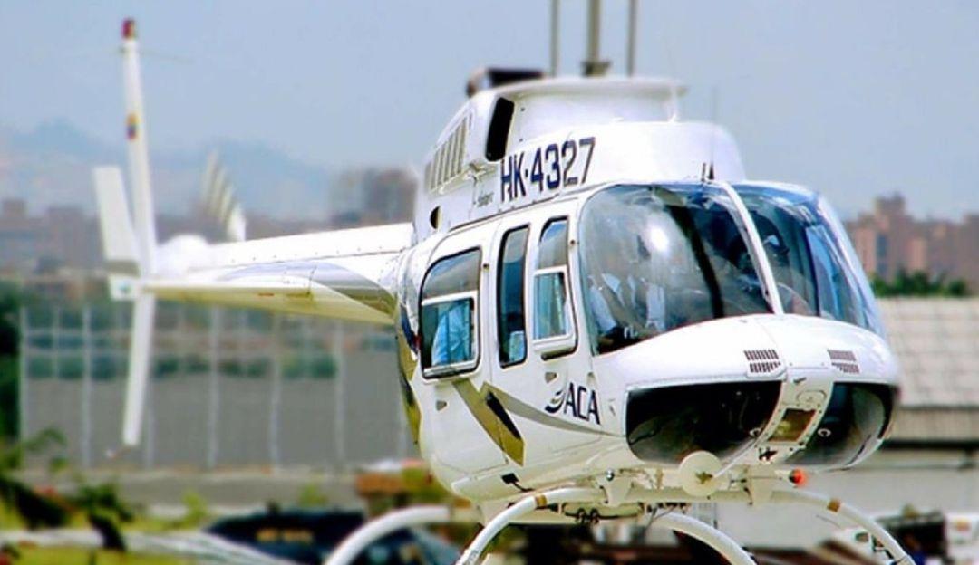 ELN admitió que secuestró a los tripulantes de un helicóptero derribado