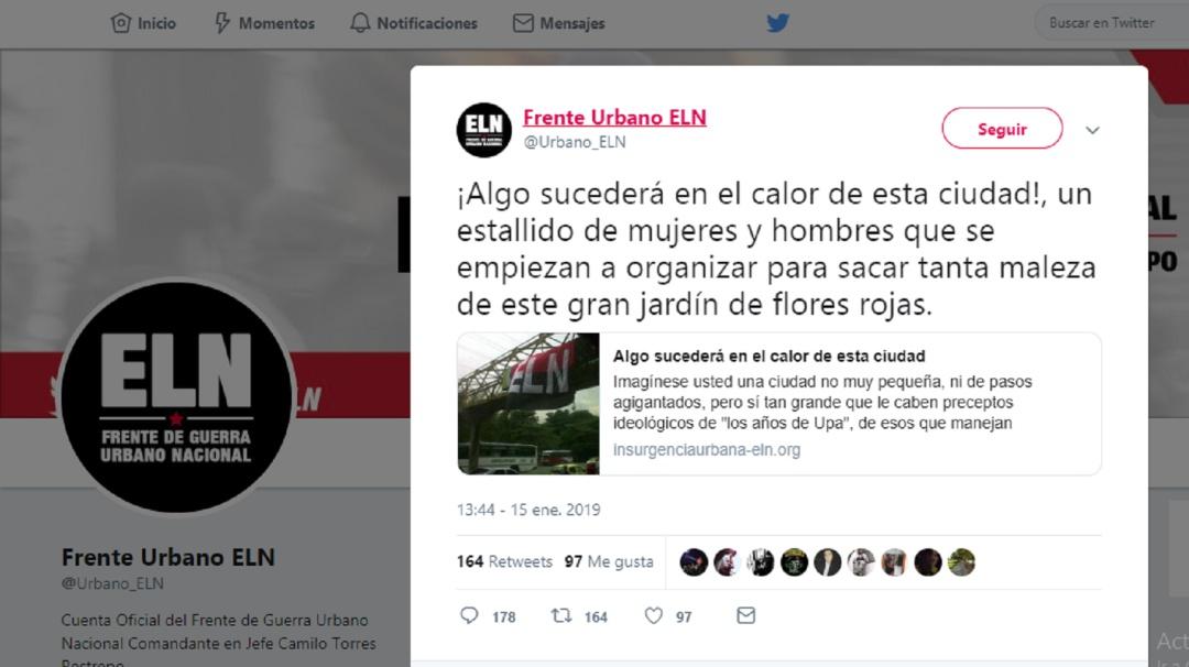 Confuso trino: ¿Se predijo el carro bomba en la General Santander?