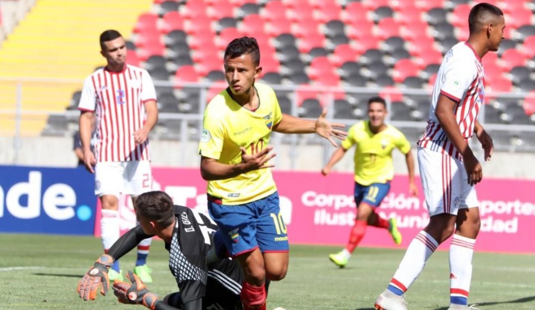 Sudamericano Sub20 Ecuador Paraguay: Ecuador goleó en su debut del Sudamericano Sub-20