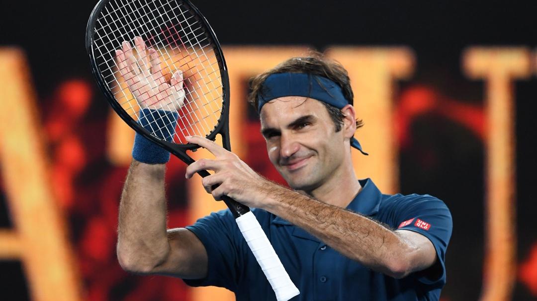 Así reaccionó Federer al ser detenido por un guardia de seguridad