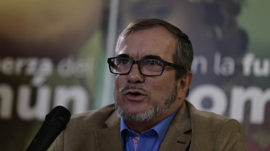 Atentado bomba en Bogotá: Timochenko: El Eln tiene una miopía política inmensa