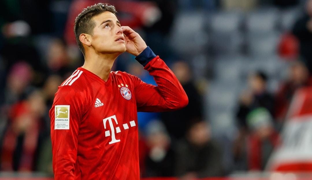No son buenas noticias las que llegan desde Alemania — James Rodríguez