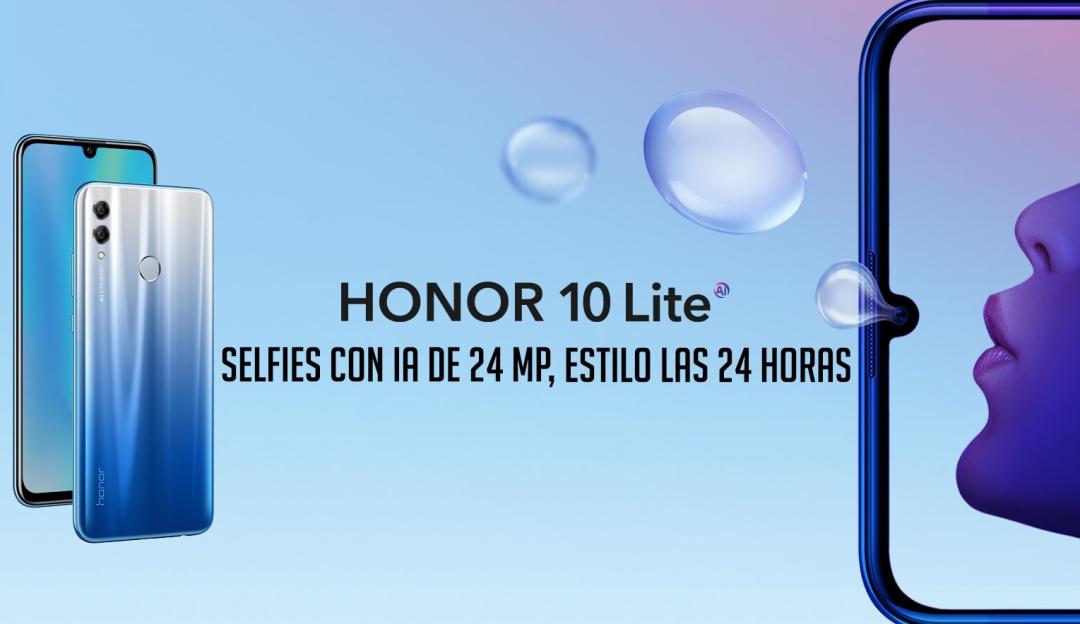 Honor 10 lite características: Honor 10 lite, más cámara y más pantalla a buen precio