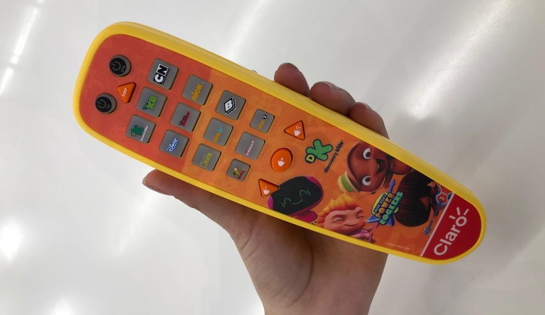 Control remoto para niños Claro: Papás, el control remoto para niños es una realidad