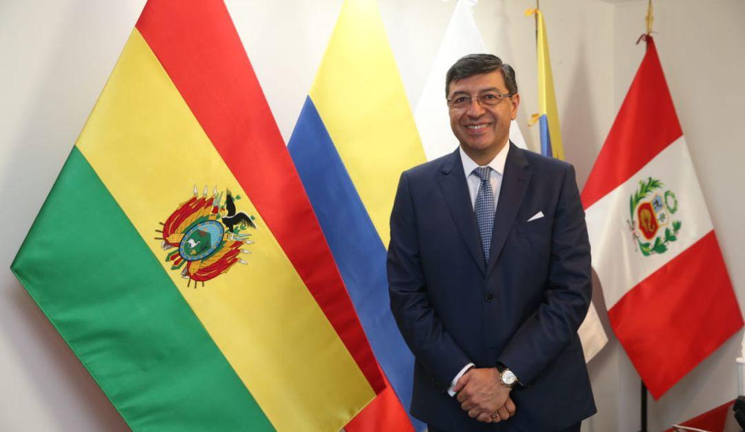 Jorge Hernando Pedraza Gutiérrez, secretario general de la CAN