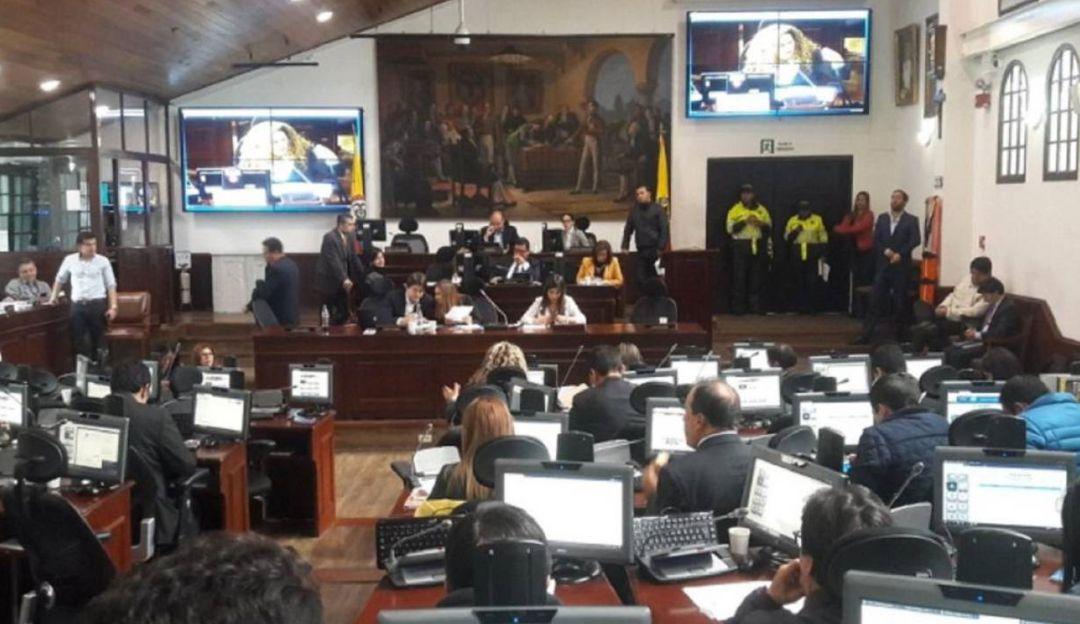 Concejo de Bogotá: Concejal asistió a plenaria presuntamente en estado de embriaguez