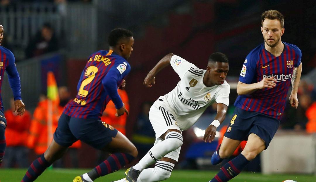 en vivo barcelona real madrid copa del rey: Barça y Real Madrid empatan en la ida