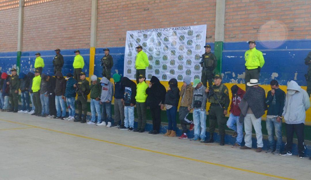 MICROTRÁFICO, BANDAS CRIMINALES, INPEC, CÁRCELES, SANTA ROSA DE OSOS: Agentes de Inpec dirigían banda que vendía droga desde cárcel de Santa Rosa