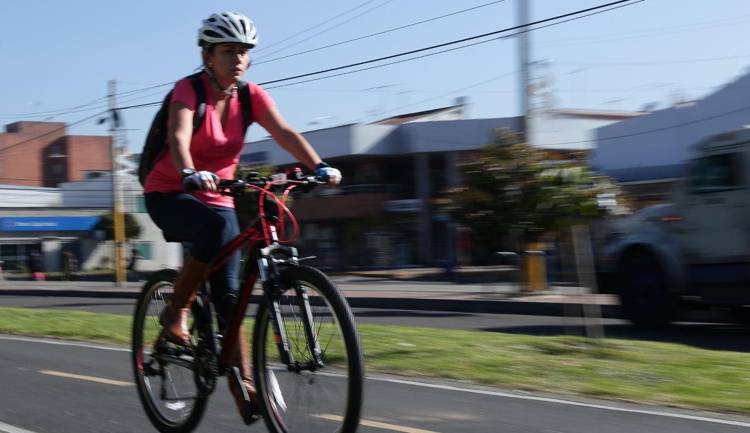 Más bicicleta y menos contaminación en el día sin carro en Bogotá