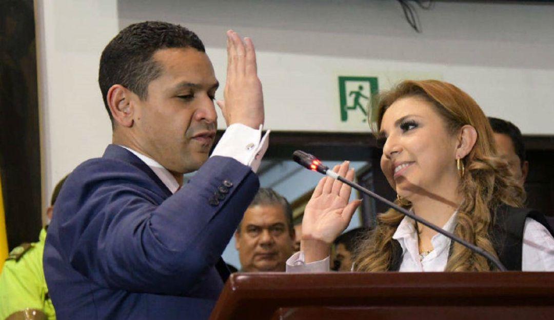 Daniel Palacios y Nelly Patricia Mosquera