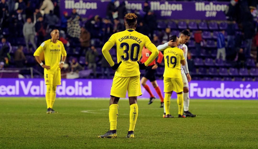 bacca villarreal: Bacca estuvo presente en el empate del Villarreal
