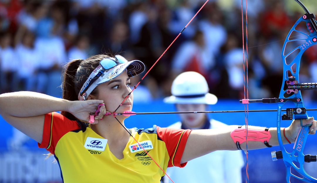 sara lopez: Sara López, la mejor del mundo en tiro con arco compuesto