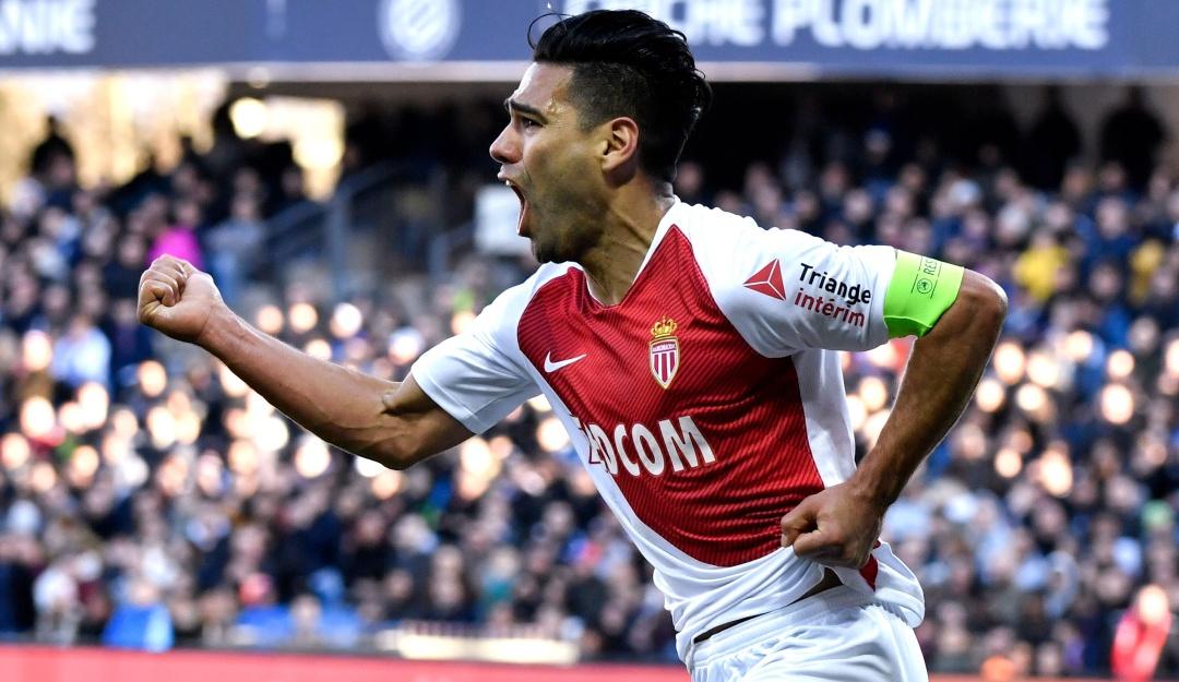 falcao monaco: Falcao marcó pero Mónaco no pasó del empate