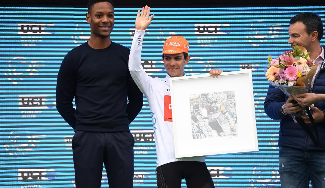 sergio higuita: Sergio Higuita, mejor joven en la Vuelta a la Comunidad Valenciana