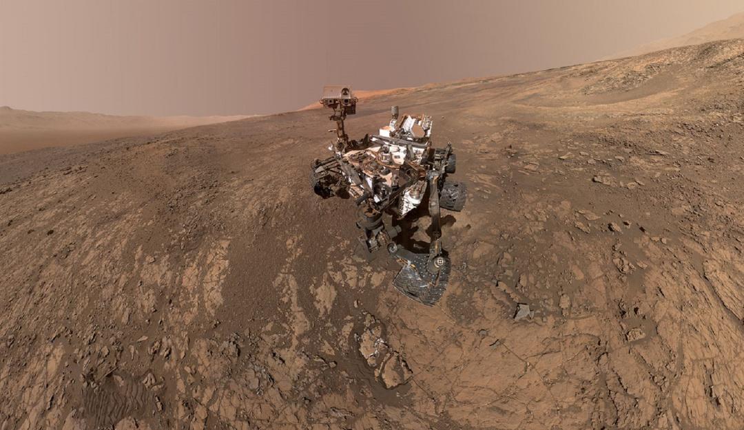 """Fotos 360 de Marte: Así se ve marte desde el robot """"Curiosity"""""""