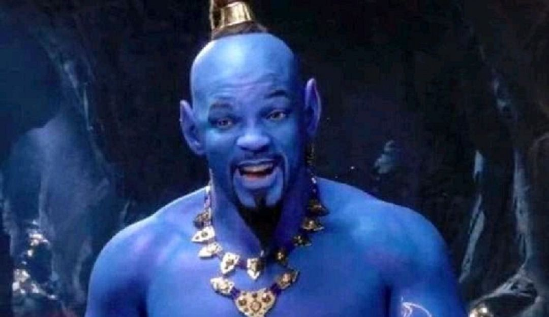 Will Smith como Aladdin