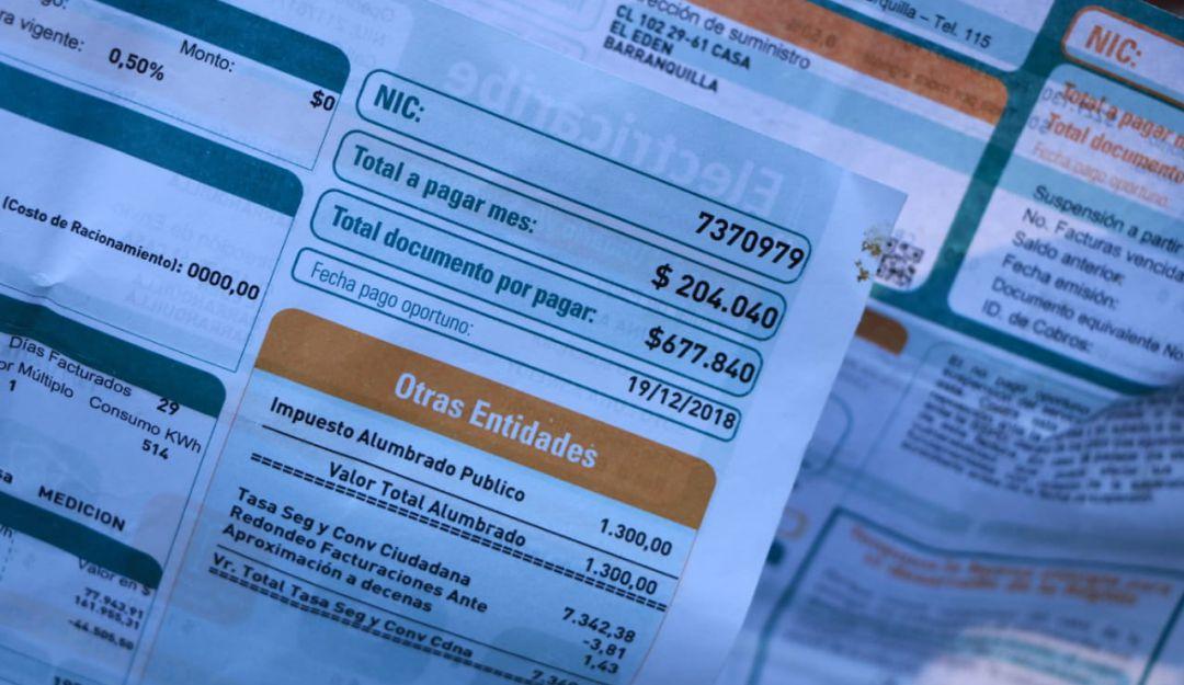 Subsidios: Comerciantes en Barranquilla rechazan desmonte de subsidios de energía