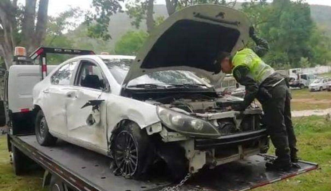 ABANDONADO FUE HALLADO UN CARRO CAUSANTE DE ACCIDENTE: Encontraron abandonado carro que causó choque en Fátima