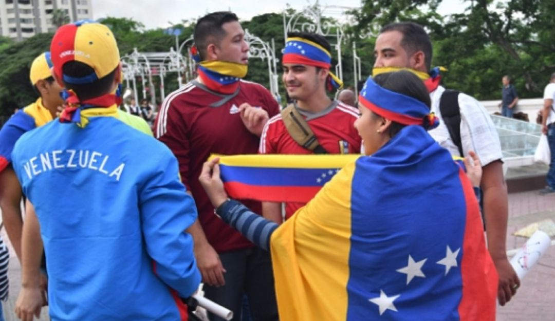 Jóvenes venezolanos.