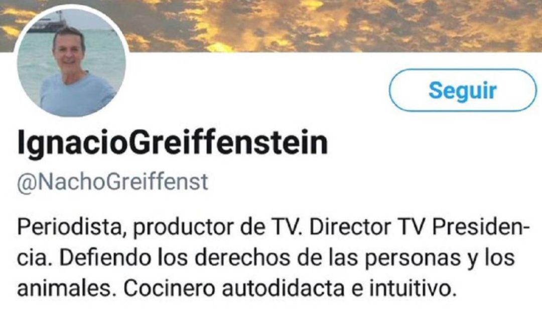 Ignacio Greiffenstein: Renunció funcionario de la presidencia por trino ofensivo a mujeres