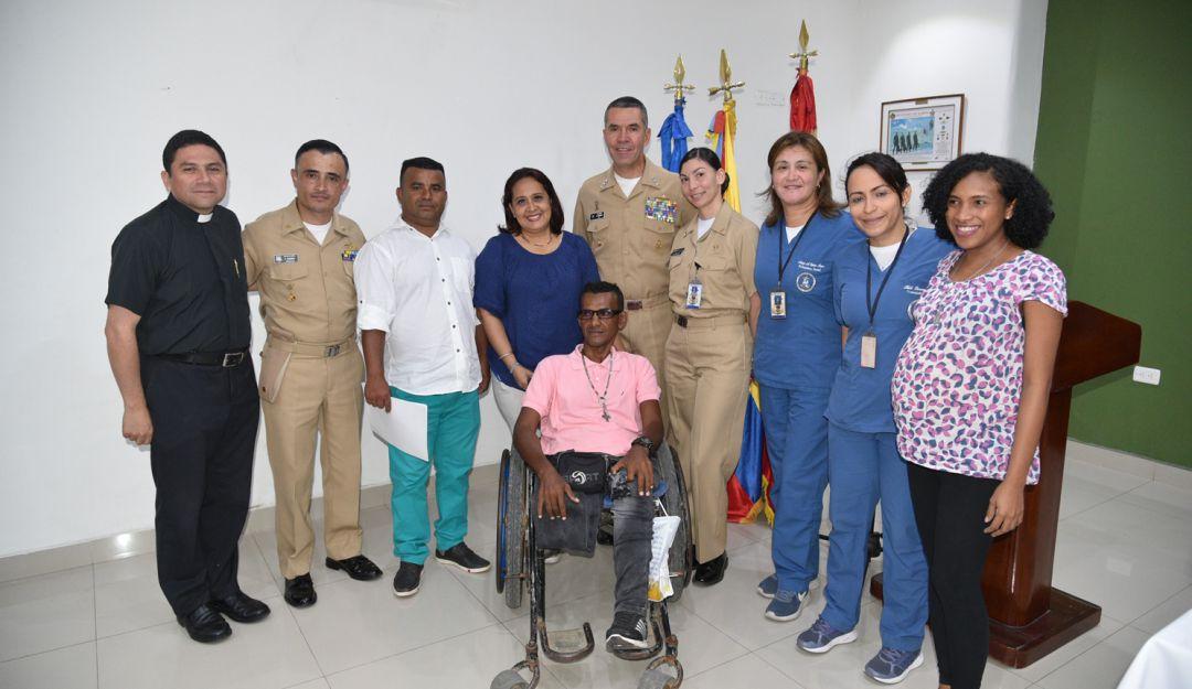 Subsidios vivienda personal herido combate Cartagena Armada Nacional: En Cartagena entregan subsidios de vivienda a personal herido en combate